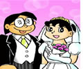 大雄de結婚照