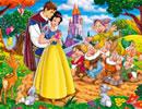 白雪公主愛情拼圖