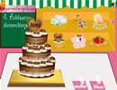 裝扮浪漫婚禮蛋糕