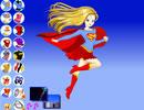 美麗女超人換裝