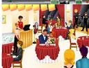 餐館服務生的整蠱