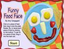 有趣的食物臉