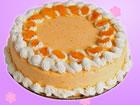 烤香橙蛋糕
