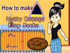 烤甜桔燕麥餅