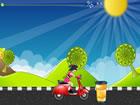 女生騎單車