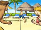 海灘太陽床阻擊戰