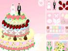 設計新婚愛情蛋糕