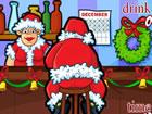 聖誕老人泡酒吧