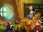 小松鼠的童話故事