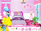 迪斯尼公主的房間