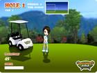3D女生高爾夫