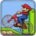 卡通人物自行車賽