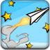 翱翔的紙飛機