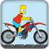 辛普森玩摩托