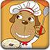 可愛的小狗廚師