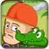 光頭強照顧小鱷魚