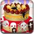 可愛萬聖節蛋糕