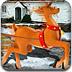 聖誕老人駕馴鹿