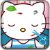 照顧受傷的Hello Kitty