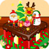 安娜公主聖誕節蛋糕