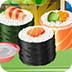 可口壽司烹調和服務