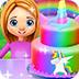 彩虹獨角獸蛋糕